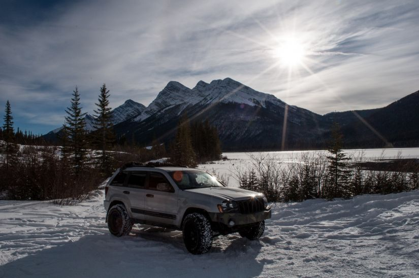 Jeep Grand Cherokee 2006 WK1 Snow
