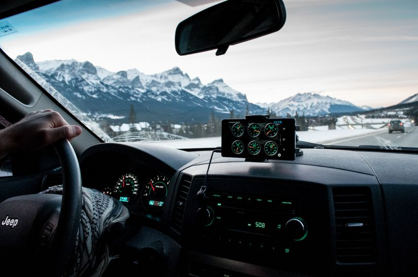 The command center of the Jeep Grand Cherokee