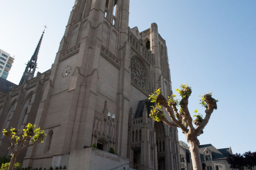 Grace Cathedral in Downtown San Francisco