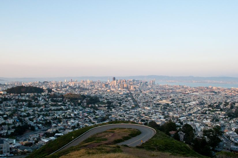 Another view from Twin Peaks San Francisco