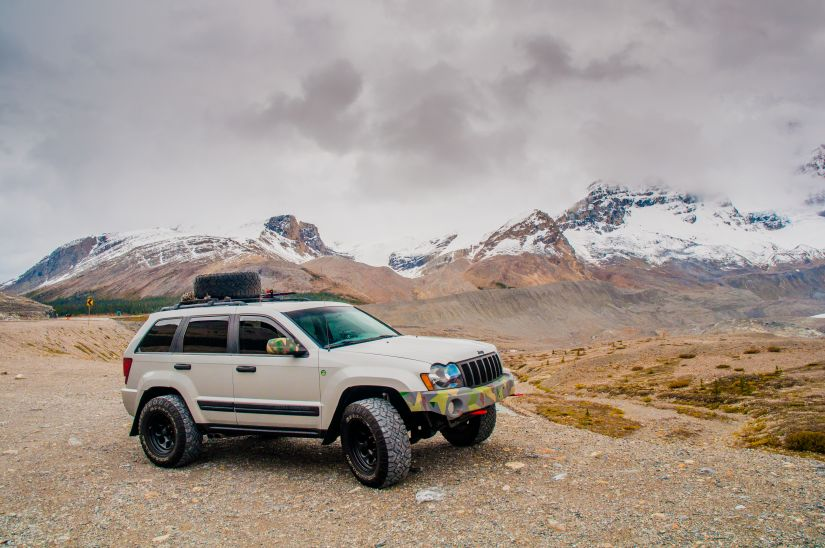 2007 Jeep Grand Cherokee WK1 Lifted in Banff